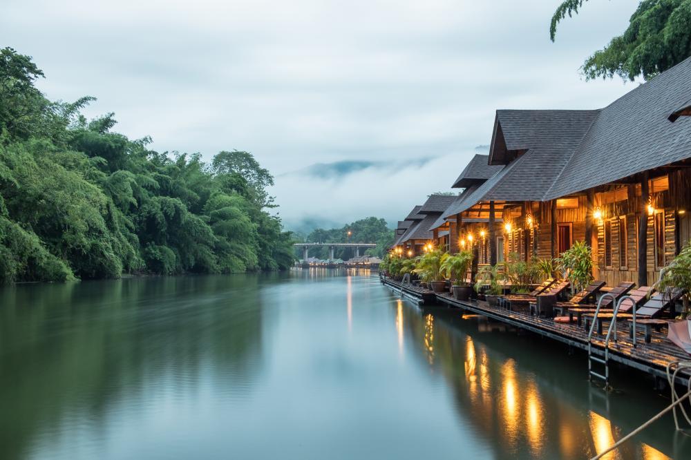 река квай таиланд фото этими крупными осторожными