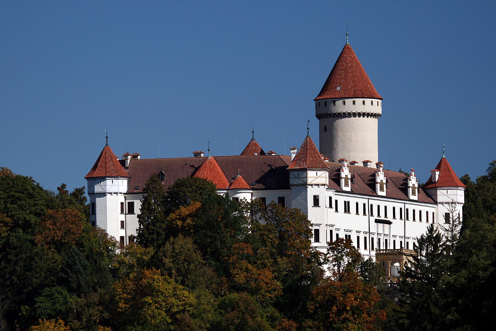 фотосессия в замке конопиште видно фото, ольга