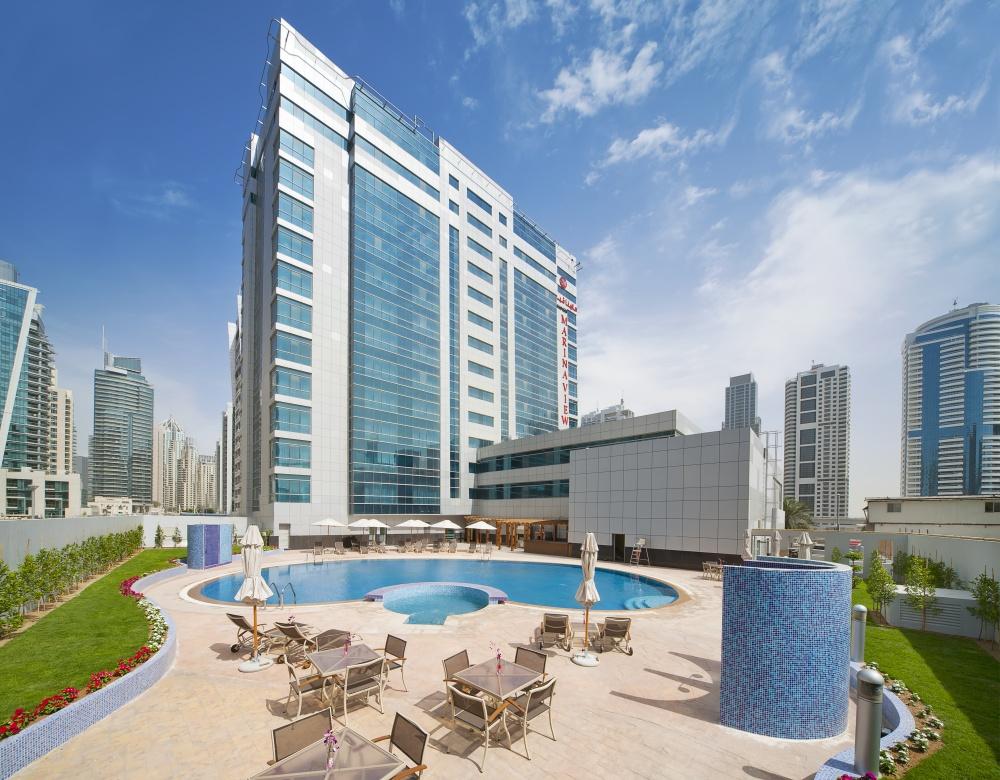 Marina view hotel 4 дубай вилла в англии