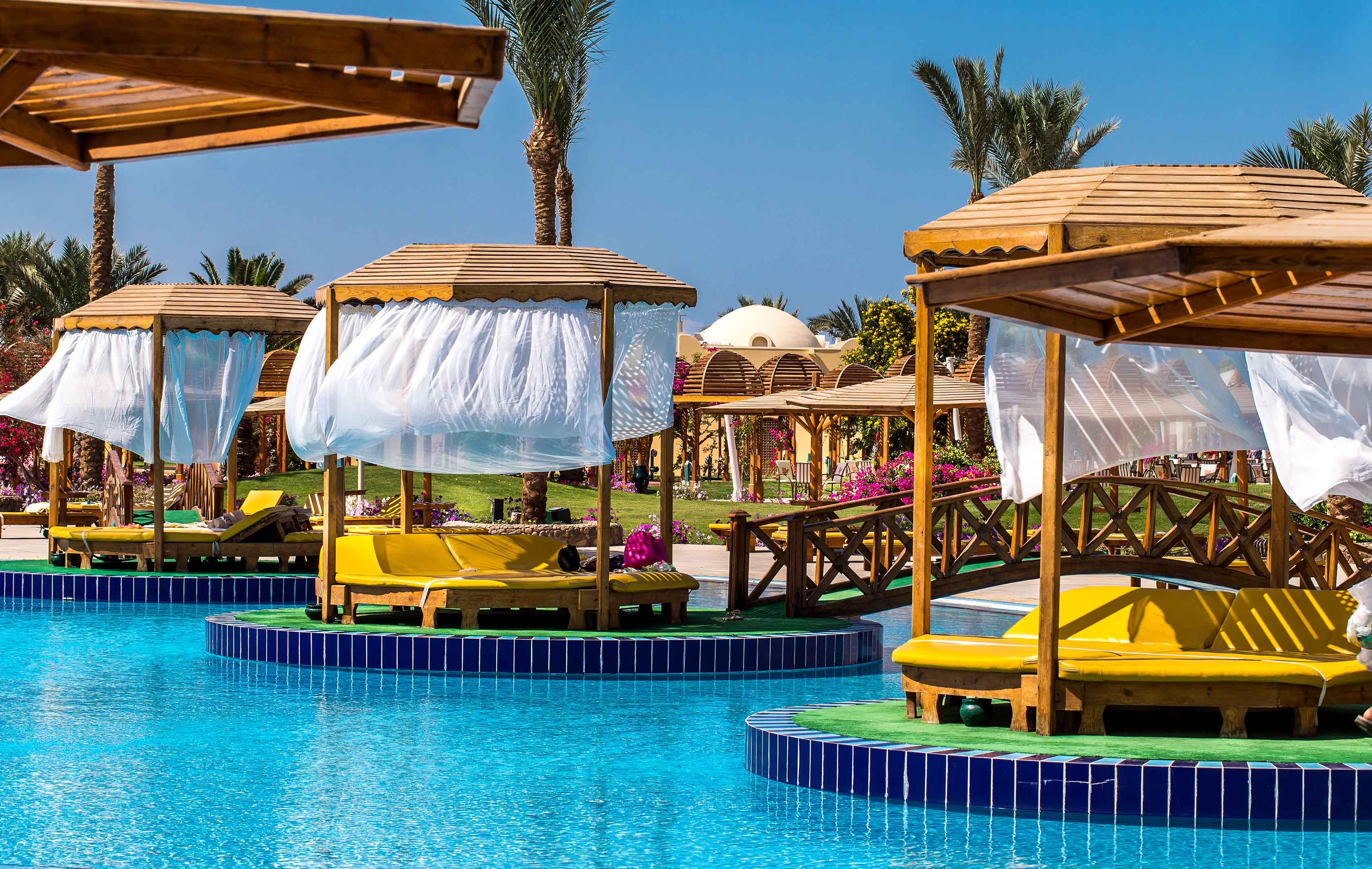 Египет. хургада. отель десерт розе хургада 5 звезд