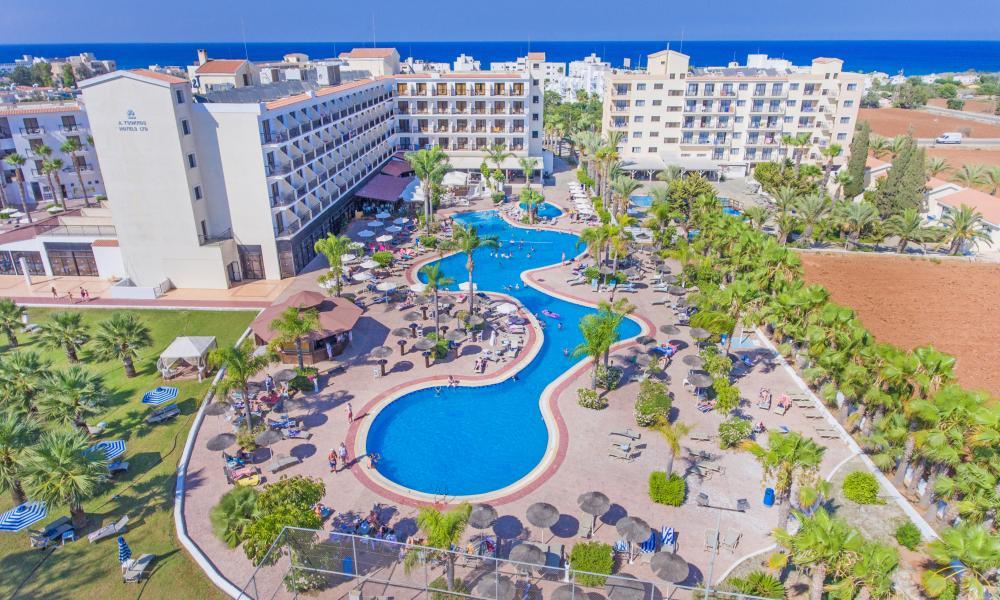 Отель Tsokkos Gardens 4 Протарас Protaras Кипр цены