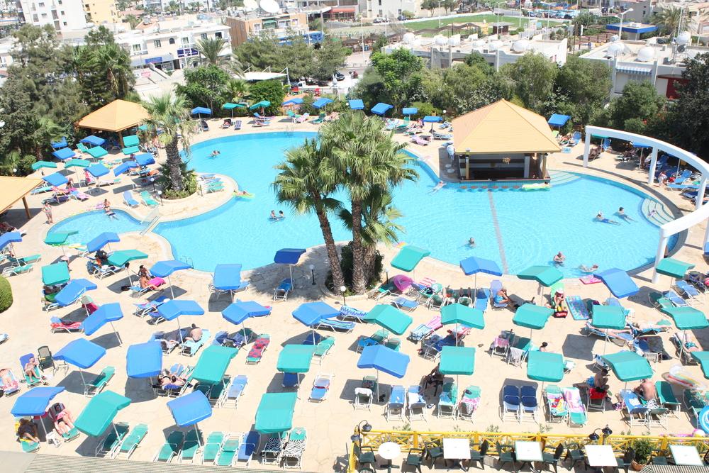 Фото пляжа кипр отель антигони